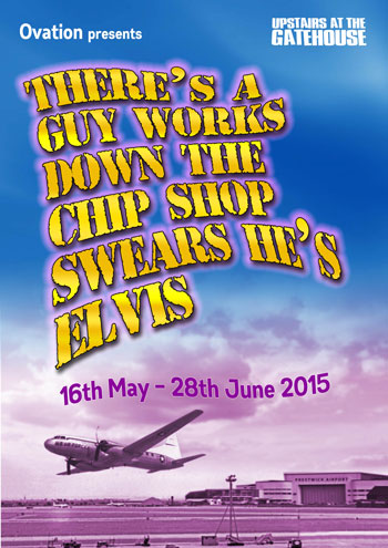 Chip-Shop-Elvis-Poster